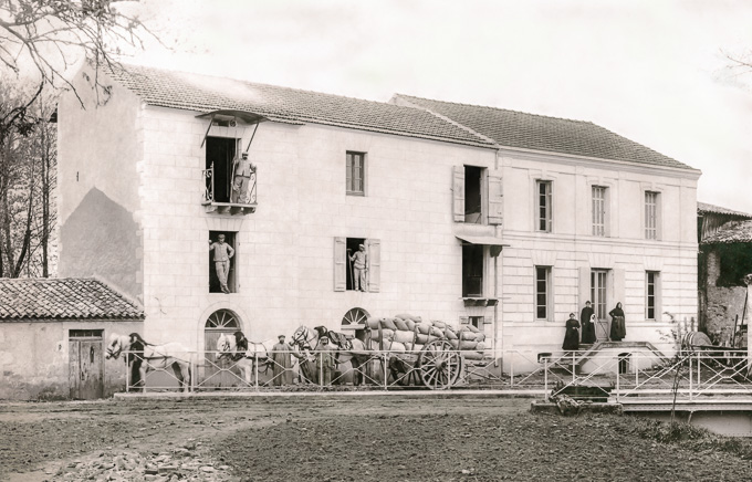 Le moulin de Reguignon en octobre 1913