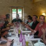Pendant la pause déjeuner Au four et au Moulin