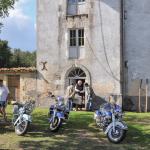 Journées du Patrimoine en association avec des collectionneurs motos et voitures
